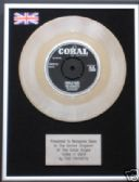 "CRICKETS (BUDDY HOLLY) -7""Platinum Disc- THINK IT OVER"